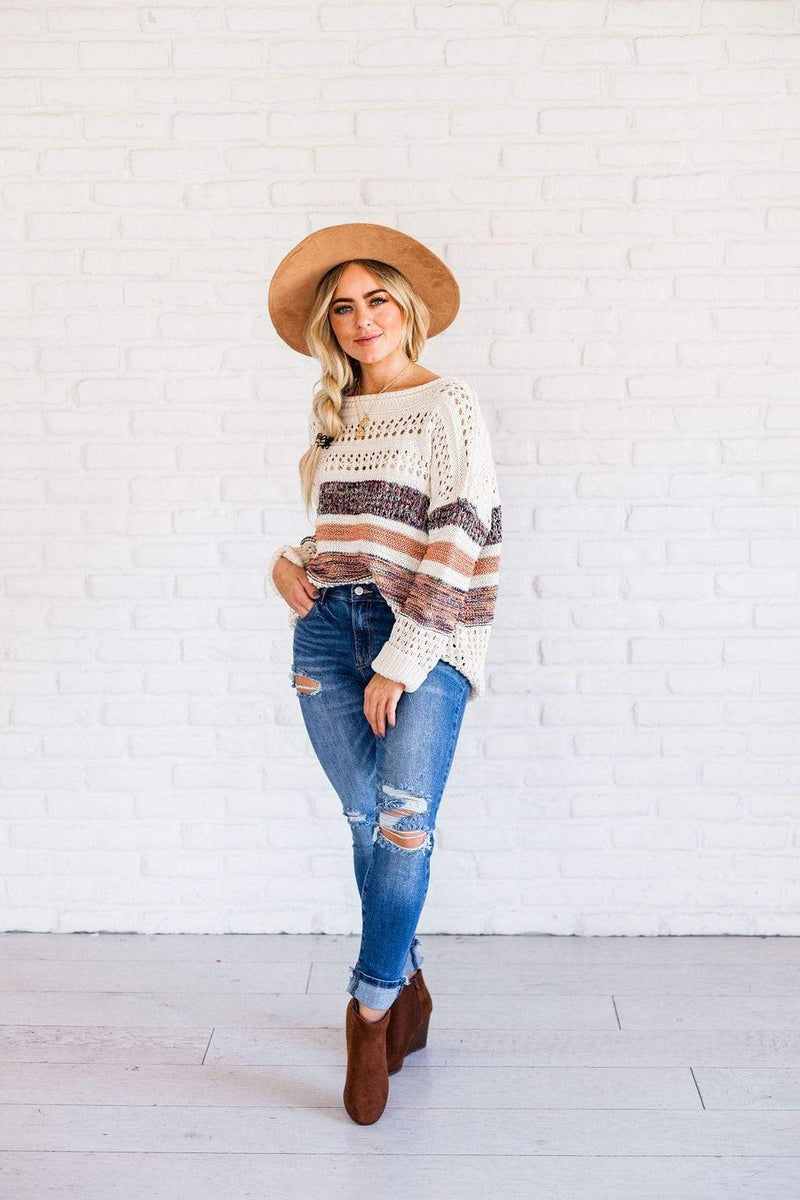 Tops Vivienne Sweater Oatmeal