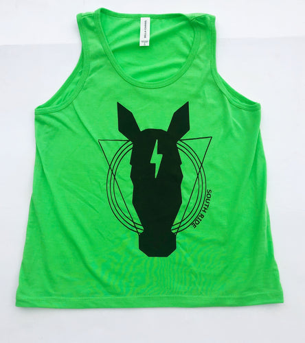 LIME GREEN KIDS SR TANK-PREORDER