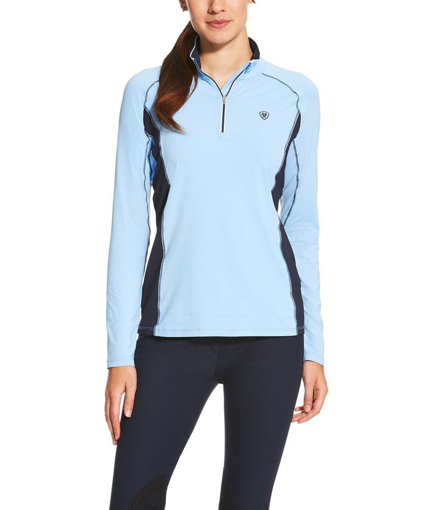 Tri Factor 1/4 Zip Sun Shirt from Ariat
