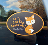 Cure For Caiya Car Decal