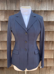 RJ Classics Monterey Show Coat in Navy Plaid (2021)- M3021