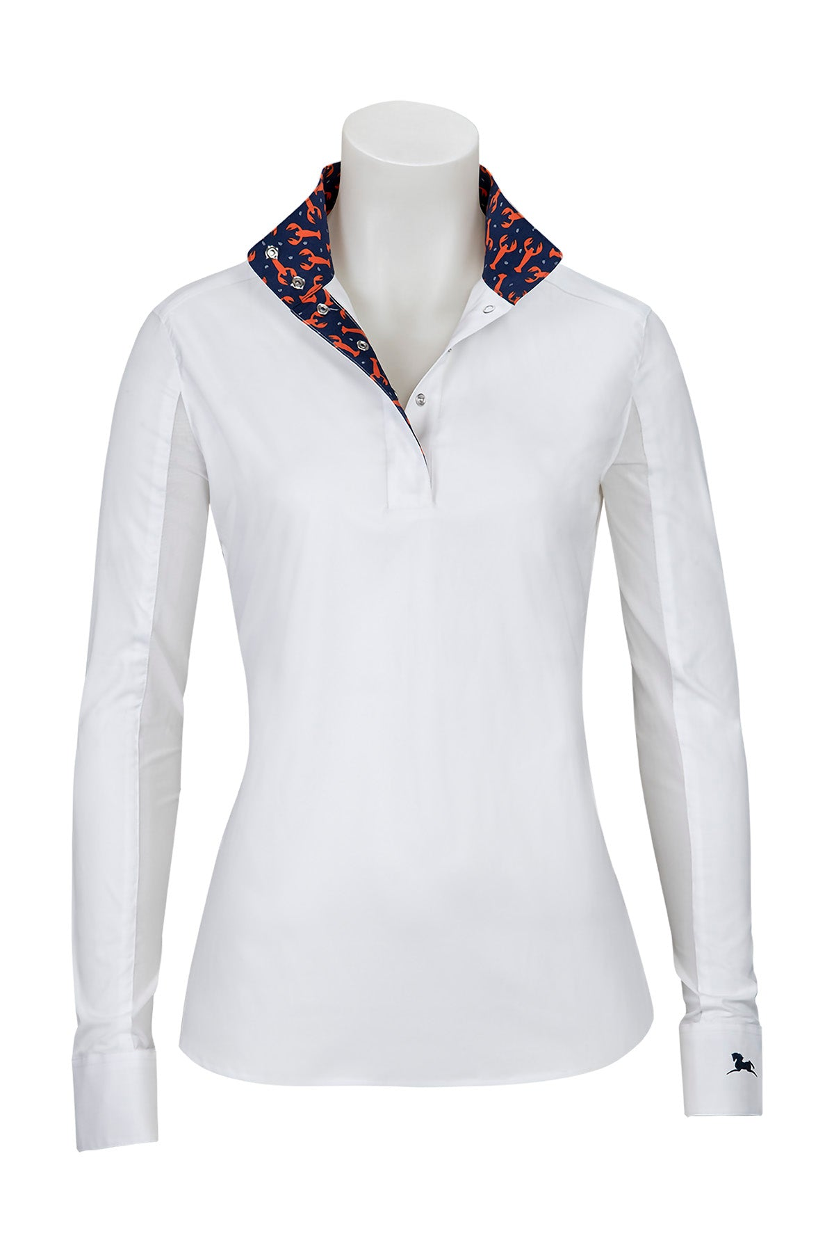 Clearance! Rebecca Lobster Print Show Shirt from R.J. Classics