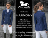 Harmony Jr Girls Mesh Show Coat in Black from R.J. Classics
