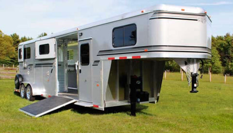 New! 2019 Kingston Two Plus One Classic Gooseneck Trailer
