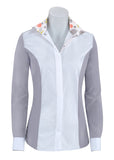 RJ Classics Windsor Shirt w/ Grey Floral Trim