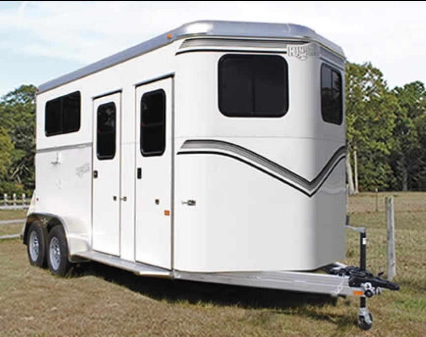 New! 2019 Kingston Endurance 2 Horse w/ Dressing Room Trailer