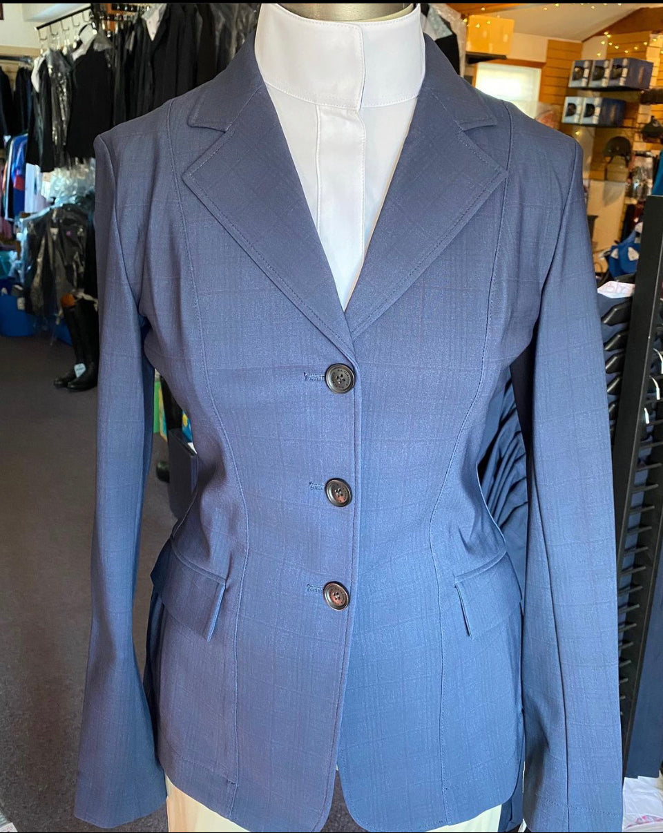 RJ Classics Monterey Show Coat in Navy Plaid (2020)- M3015