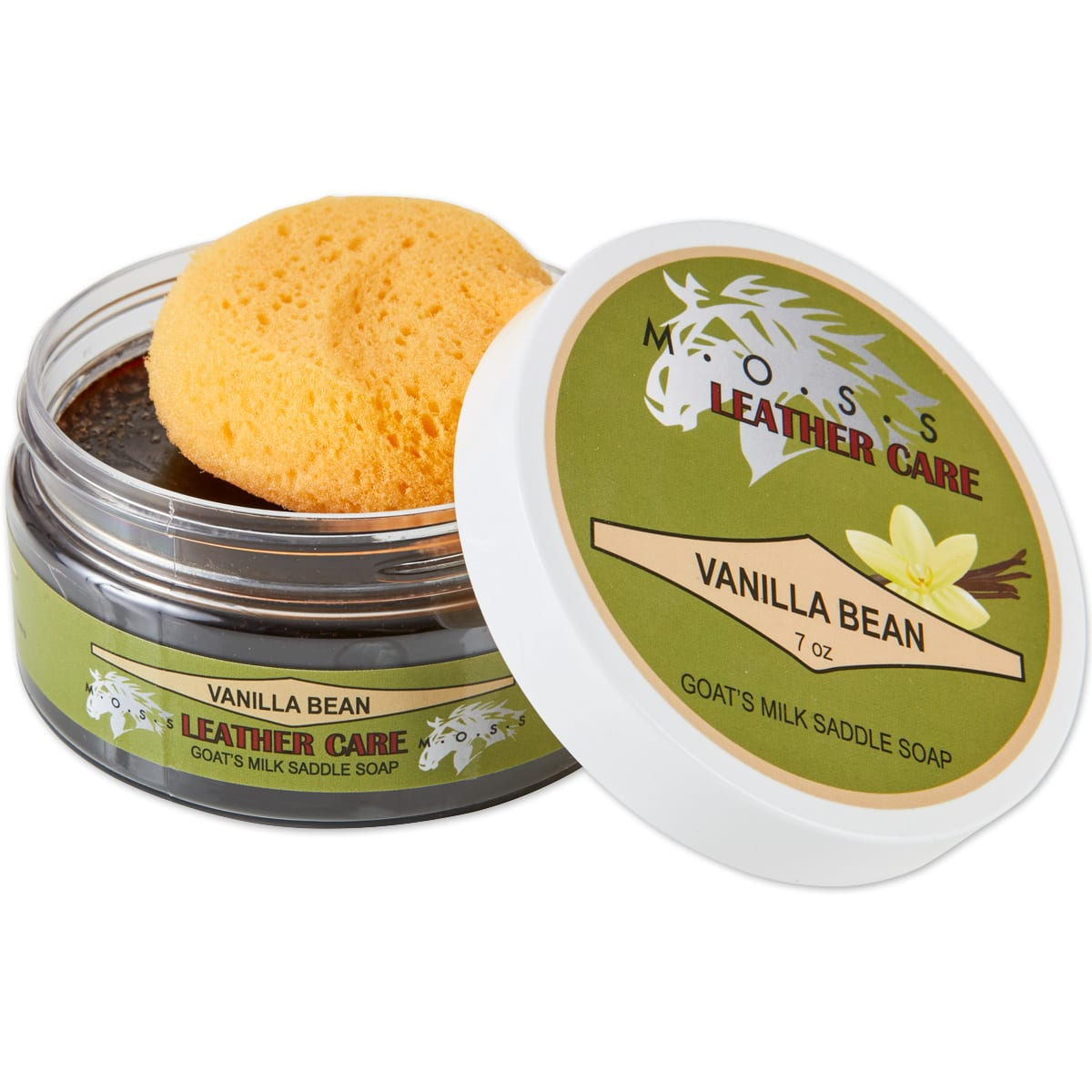 Moss Goat's Milk Saddle Soap