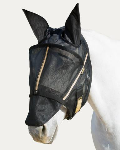 Noble Guardsman Fly Mask (with ears)