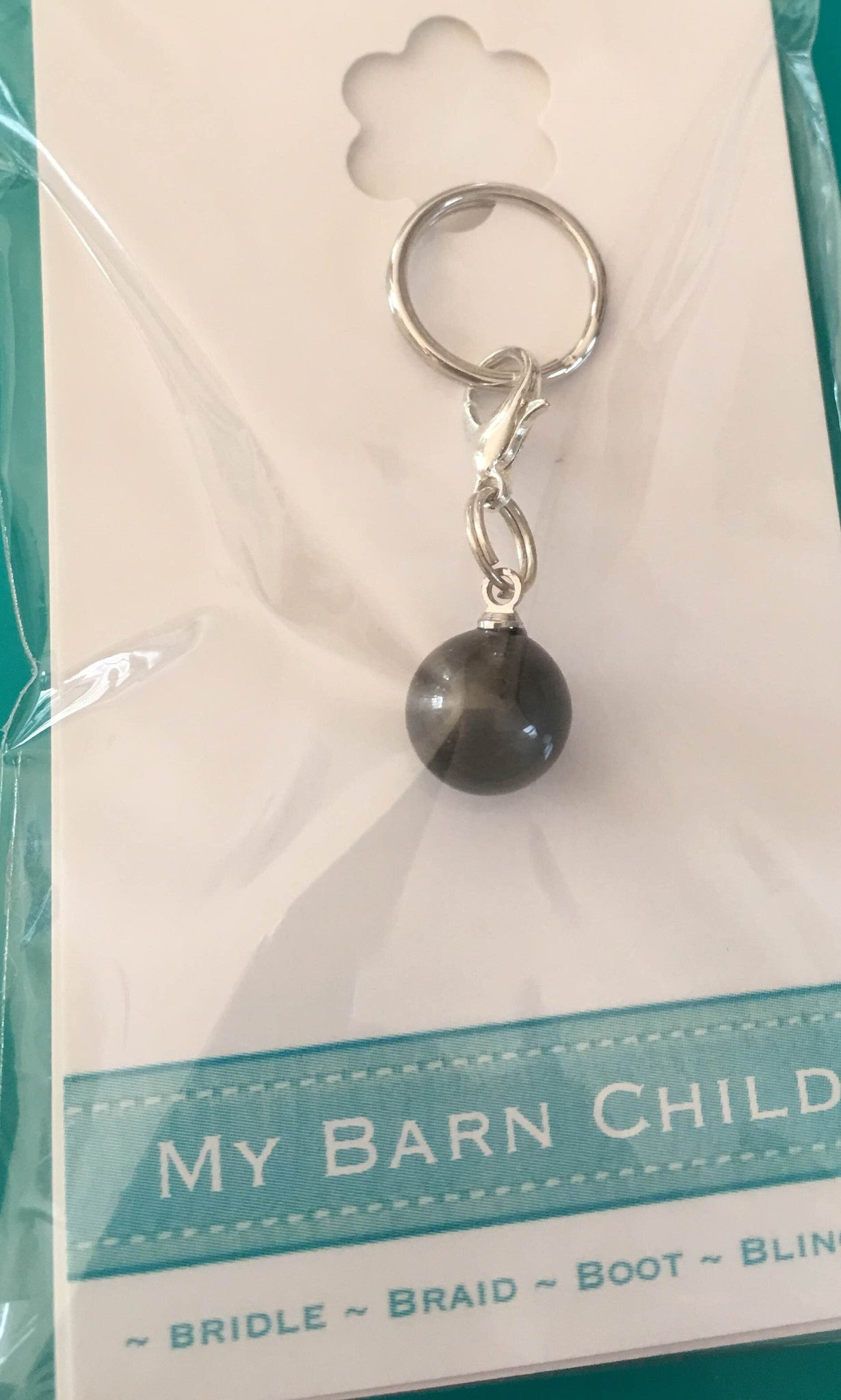 Black Pearl Charm from My Barn Child