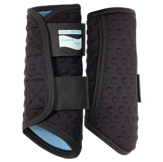 Stretch & Flex Flatwork Wrap Boots from Equilibrium