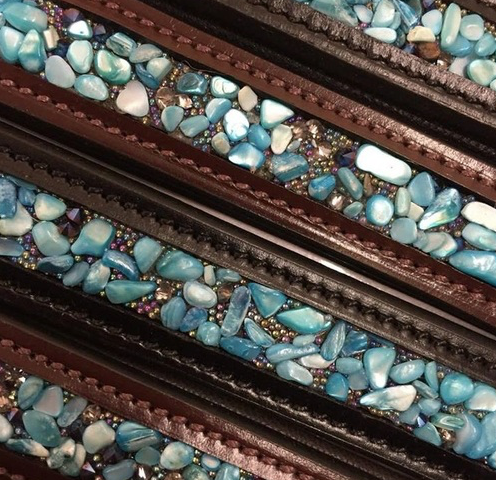 Turquoise Stone Browband