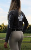 The Vineyard Equestrian Logo Long Sleeve Tee