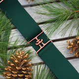 ACE Equestrian Forest + Copper Elastic Belt