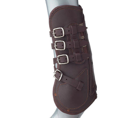 Prestige Leather Open Front Jumping Boots - Clearance!