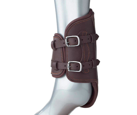 Prestige Leather Fetlock Boots w/buckles- Clearance!