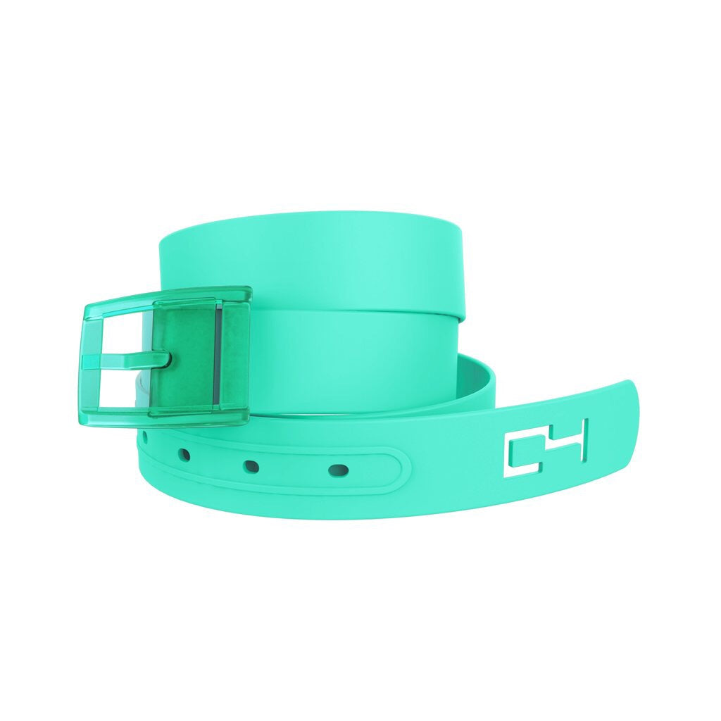 Shamrock Belt Green Clovers with White Strap /& Green Buckle by C4 Belts