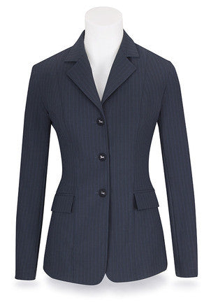 CLEARANCE! Ladies Xtreme Collection Navy Stripe Soft Shell M8530