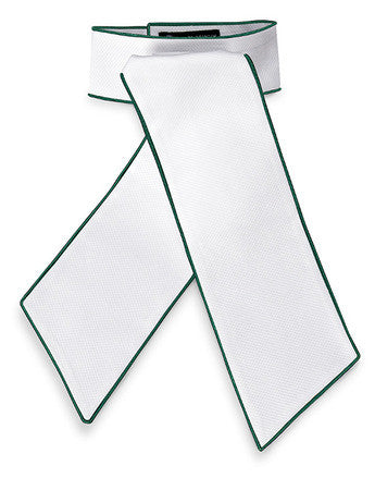 Camden Pre-tied Stock Tie from RJ Classics  Satin Trim