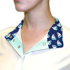 RJ Classics Rebecca Jr Show Shirt- sailboats