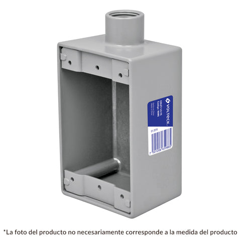 CONDULET TIPO RECTANGULAR (FS 19MM)