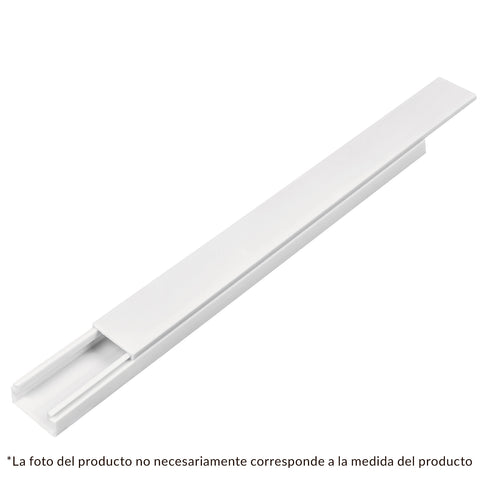 CANALETA 46281 1VIA 17X20 MM.2MT. S/ADHE