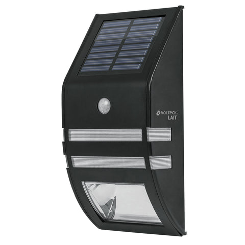 LAMPARA SOLAR C/SENSOR D MOVIMIENTO 2LED