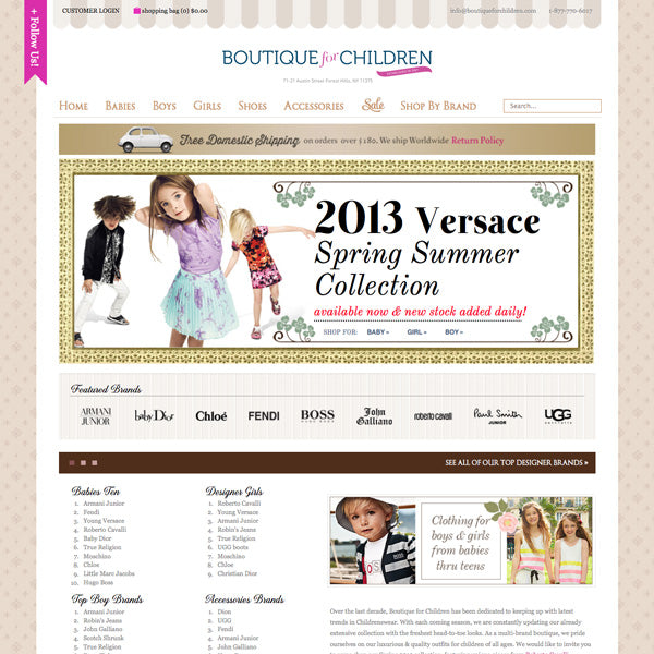 Boutique for Children