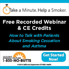 CE Course-Smoking Cessation and Asthma