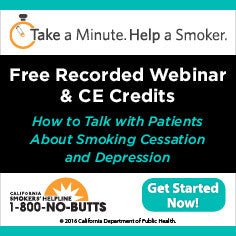 CE Course-Smoking Cessation and Depression