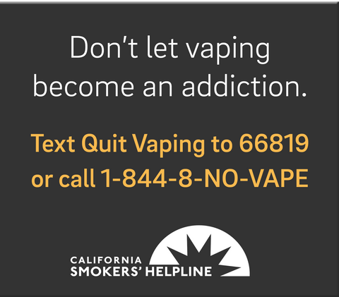 Vaping Cessation Social Media Ads