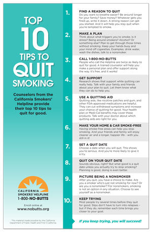 Readiness to quit ladder 10 i have quit smoking. | download.