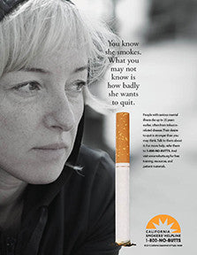 Poster-You Know She Smokes