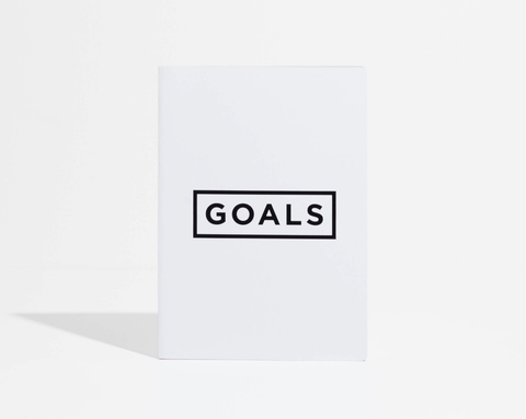 Goals Book - White