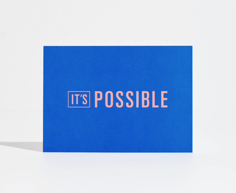 Goal Card - It's Possible