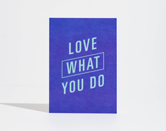 Goal Card - Love What You Do