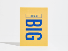 Goal Card - Dream Big