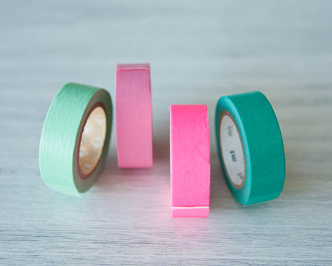 Washi Tapes - Matte
