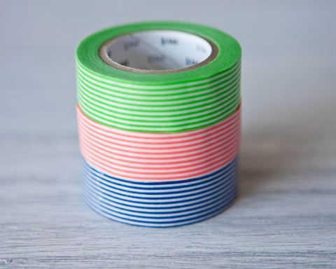 Washi Tapes - Stripes (Singles)