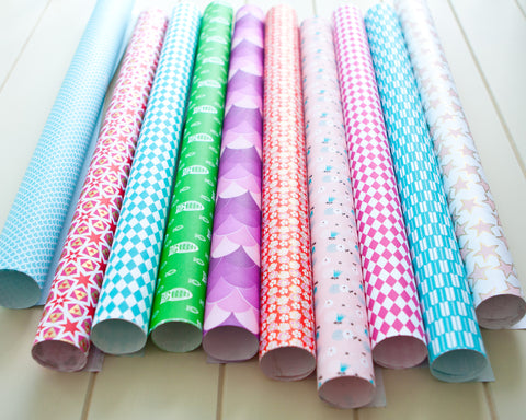 Wrapping Paper Set - Bloom