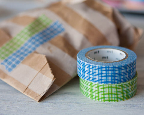 Washi Tapes - Checks (2 Pack)
