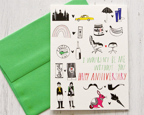 Me & You Anniversary Card