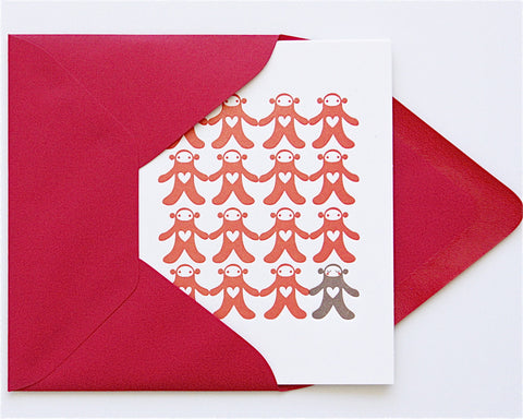 Special Love Letterpress Card