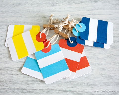 Stripe Gift Tags (12 Pack)