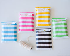 Paper Bags - Stripes