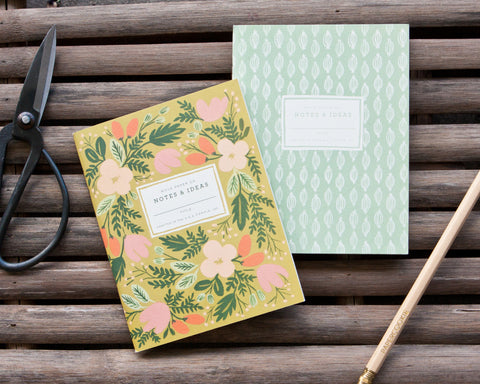 Moss Garden Notebooks (2 Pack)