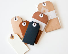 Natural Gift Tags (5 pack) - last one!