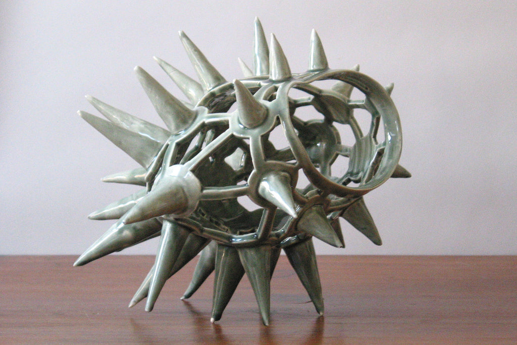 Sea Form with Spikes
