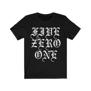 Old English FIVE ZERO ONE Tee