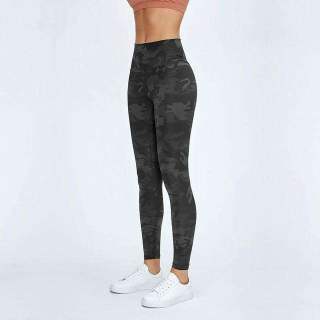 MEND BOOST Sports Legging - Black Camo